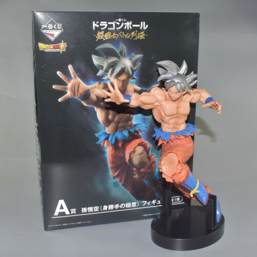 Dragon Ball Z Sliver Hair Ultra Instinct Goku Action Figure Super Saiyan Goku