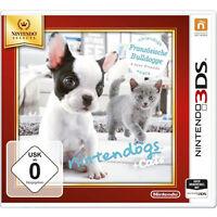 Nintendo 3ds Spiel Nintendogs Französische Bulldogge + Neue Freunde + Cats Neu