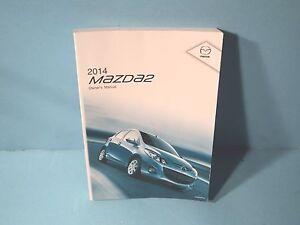 14 2014 mazda 2 owners manual ebay rh ebay com 2013 mazda 2 owners manual 2012 mazda 2 owners manual