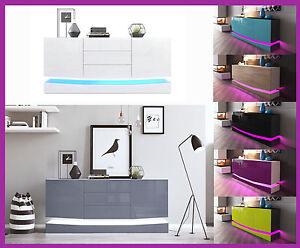 Design Kast Hout : Hoogglans hout dressoir kast opbergmeubel sideboard design salon