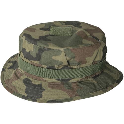 HELIKON TACTICAL MILITARY CPU HAT HIKING RIPSTOP SUN CAP POLISH WOODLAND CAMO