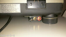 Staffa RCA + Massa x Technics SL 1200/1210 MK2, MK3, M3D, MK5, M5G