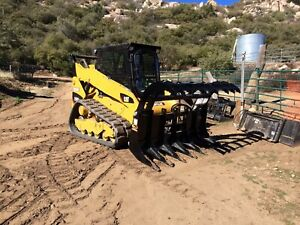 Details about EAGLE TALON GRAPPLES BY QUICK-ATTACH FOR BOBCAT, CAT, SKID  STEERS,