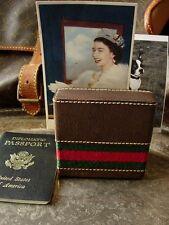Ultra RARE Vintage GUCCI Letter Card Holder Equestrian Decorative DESK ACCESSORY