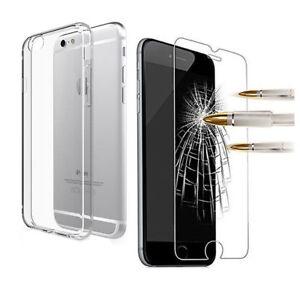 COQUE-HOUSSE-ETUI-SILICONE-iPhone-XS-X-8-7-6-5-VITRE-PROTECTION-VERRE-TREMPE