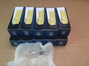 HIKARI 130V 35W GY6.35 BI PIN HALOGEN LIGHT BULB LAMP 10PACK