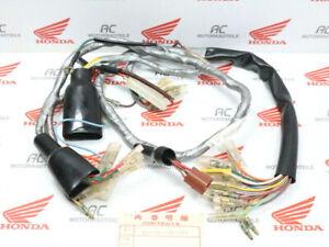 Honda-CB-450-K-Police-Faisceau-Cables-Principal-Original-Wire-Harnais-Veritable