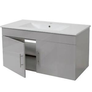 Waschbecken-Unterschrank-MCW-D16-Waschtisch-hochglanz-90cm-grau
