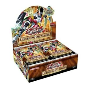Yugioh Lightning Overdrive Factory Sealed Booster Box 1st Edition IN HAND!