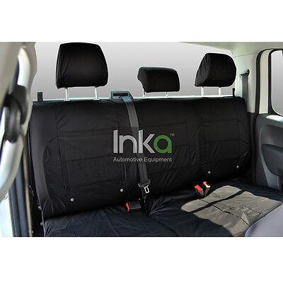 Range Rover L405 Rear Powered 60//40 Inka Tailored Waterproof Seat Covers Black