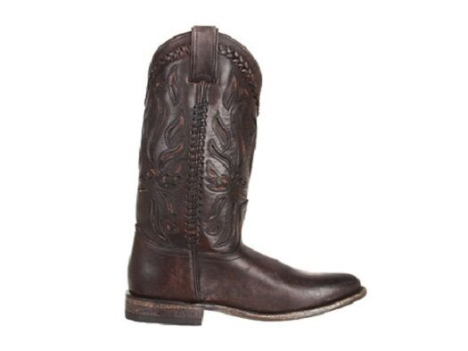 New in Box Womens Boots  Frye Frye Frye Wyatt Overlay Dark Brown Stoned Antique Size 7.5 ade22c