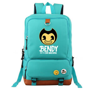 Bendy and The Ink Machine Backpack Adult Students School Rucksack Laptop Bag
