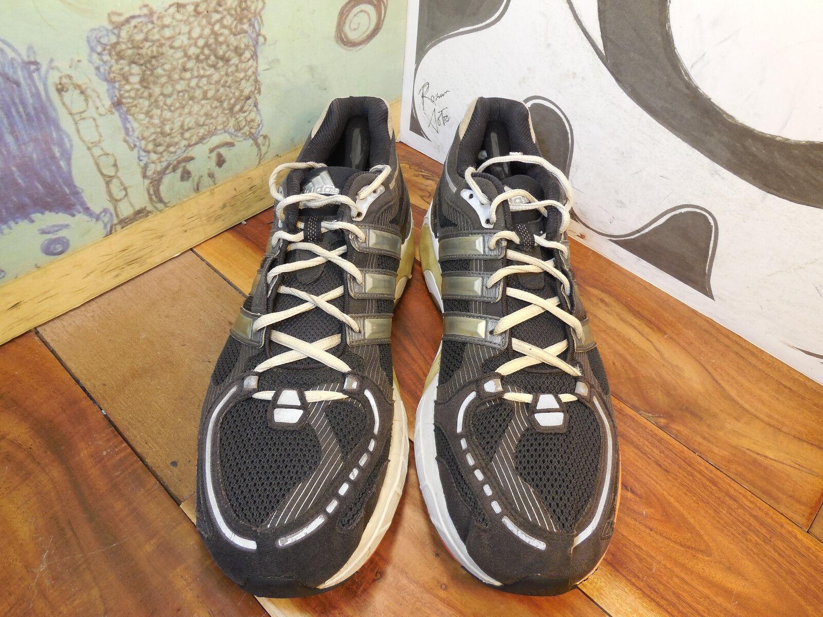 Adidas Black Running Sneakers Men's 13 Seasonal clearance sale