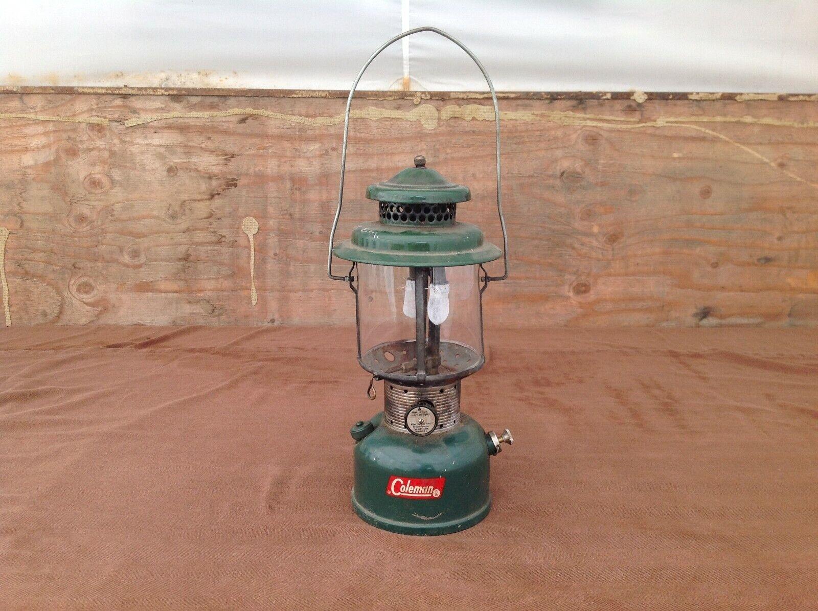 1962 Coleman Double Mantle 220E Lantern
