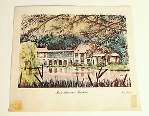 1979-Noni-Perry-Woodblock-Print-Pencil-Signed-30-500-Unframed