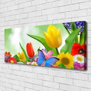 Leinwand-Bilder Wandbild Canvas Kunstdruck 125x50 Abstrakt Kunst