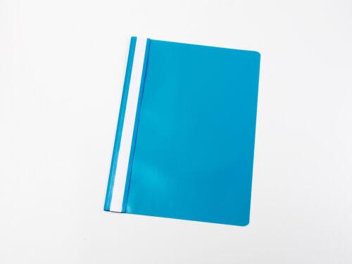 Farbe 100 PVC Schnellhefter DIN A4 hellblau