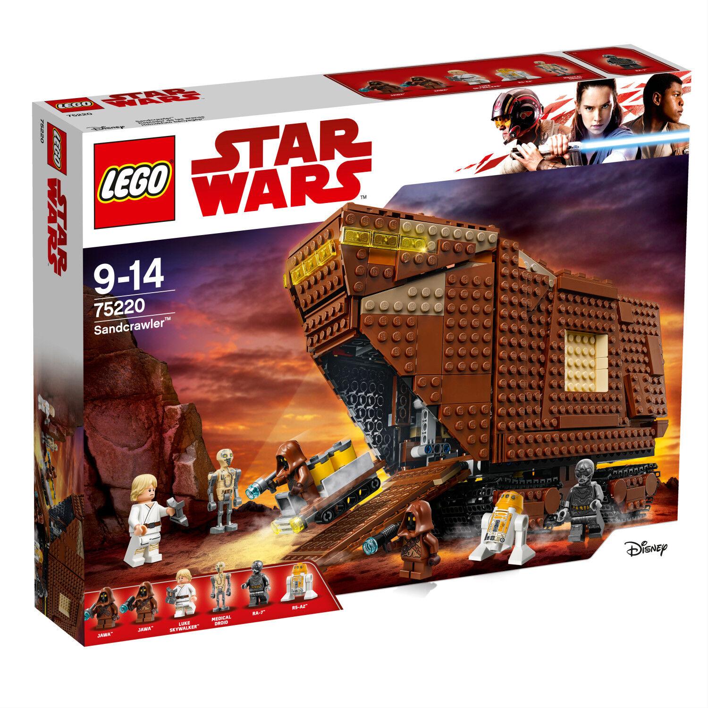 75220 Lego Star Droïdes Sandcrawler Luke Wars De Skywalker vnON8wm0