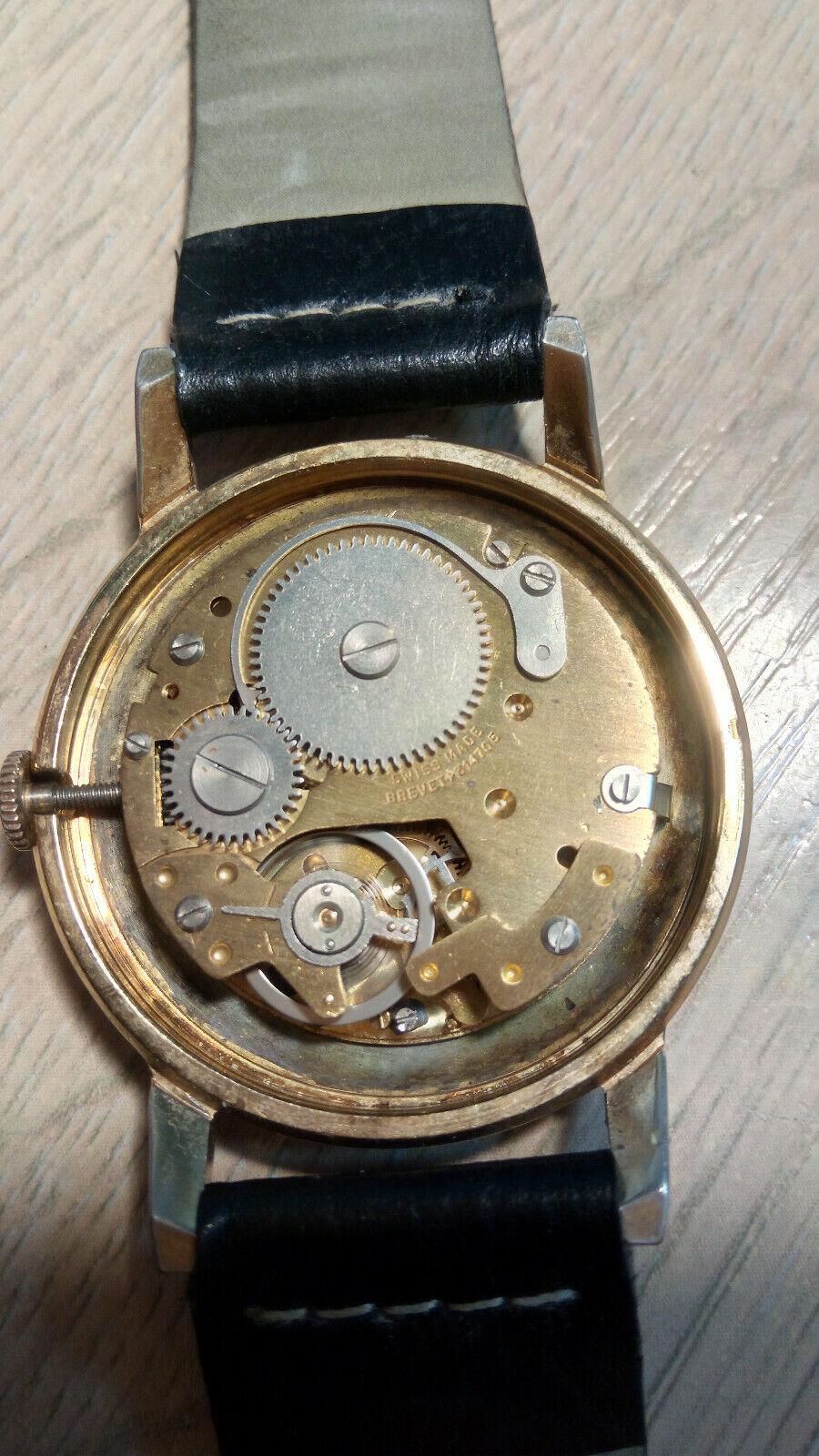 Davar De Luxe – vintage men's wristwatch – 1960s.… - image 7