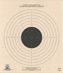 picture about Nra B-8 Target Printable named 94+ Airpistol Goals - Sighting Concentration For Air Pistol, ISSF