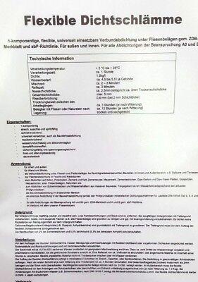 FSA Flexsockelabdichtung Dichtschlämme Abdichtung Flexibel 20 kg 1 EUR//kg