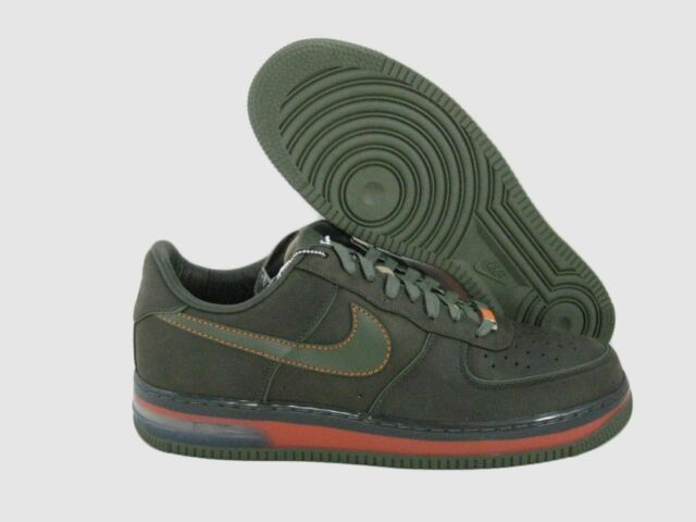 NIKE AF1 BERLIN SUPREME SZ 14 MAX DARK ARMY OLIVE 2007 316666 331 AIR FORCE 1