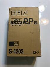 Box Of 2 Genuine Riso Soyink S 4202 Black