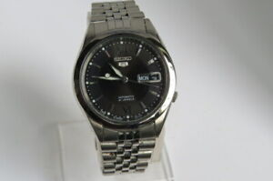 Vintage Made in Japan SEIKO 5 Automatic 21 Jewels Men watch - No.7S26 - 00X0  12