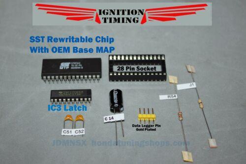 Honda OBD1 ECU Base Map FulSocket Kit SST Rewritable P28 P30 P72 P08 P06 P75