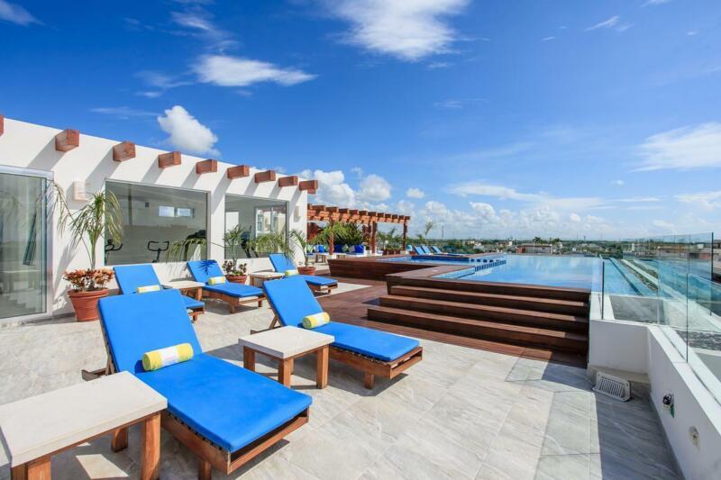 Precioso Departamento 2 recamaras Horizonte 34- Playa del Carmen cerca de la playa