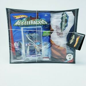 Hot-Wheels-AcceleRacers-Nitrium-PJ-039-s-set-and-Collector-Case-Rare