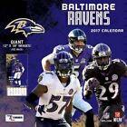 Cal 2017 Baltimore Ravens 2017 12x12 Team Wall Calendar by Turner 9781469339573