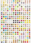 Wholesale 330pcs Cute Cartoon Home Button Sticker For iPhone 5 4/4S iPad mini