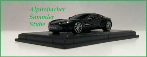 A.S.S NEU Fronti-Art Avanstyle 1//87 Aston Martin One 77 Black Schwarz OVP