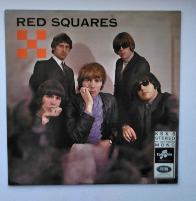LP, Red Squares, Red Squares, Rock, EMI Columbia KSX…