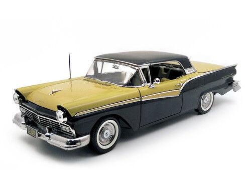 1957 Ford Fairlane nero oro 1 18 SUNSTAR 1340