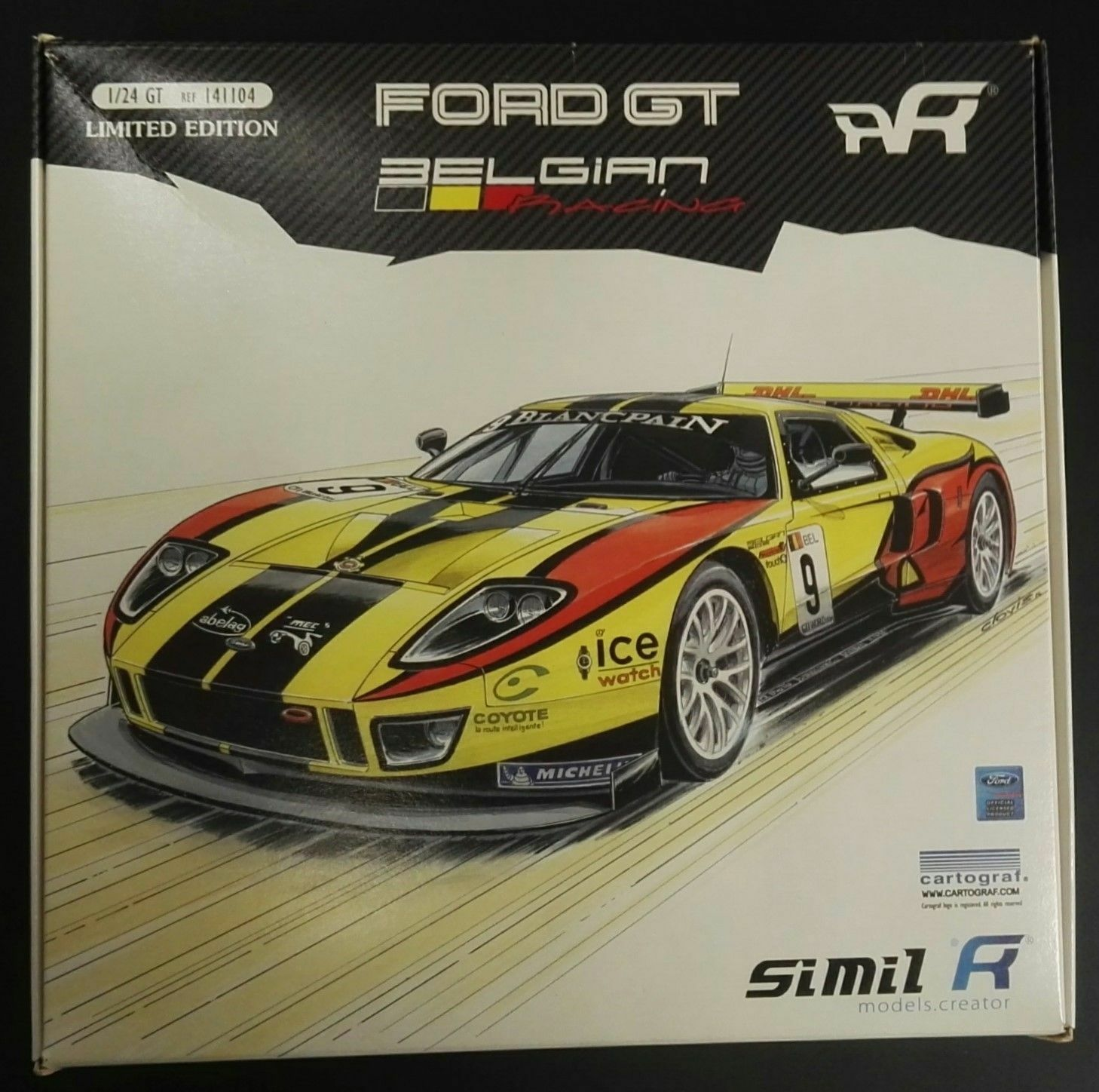 SIMIL R - FORD BELGIAN RACING - KIT MONTAGGIO 1/24 - ART. 141104