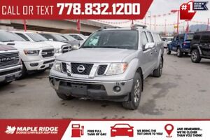 2015 Nissan Frontier SV | No Accidents, 4.0L V6, Leather, Low KMs, Heated Seats