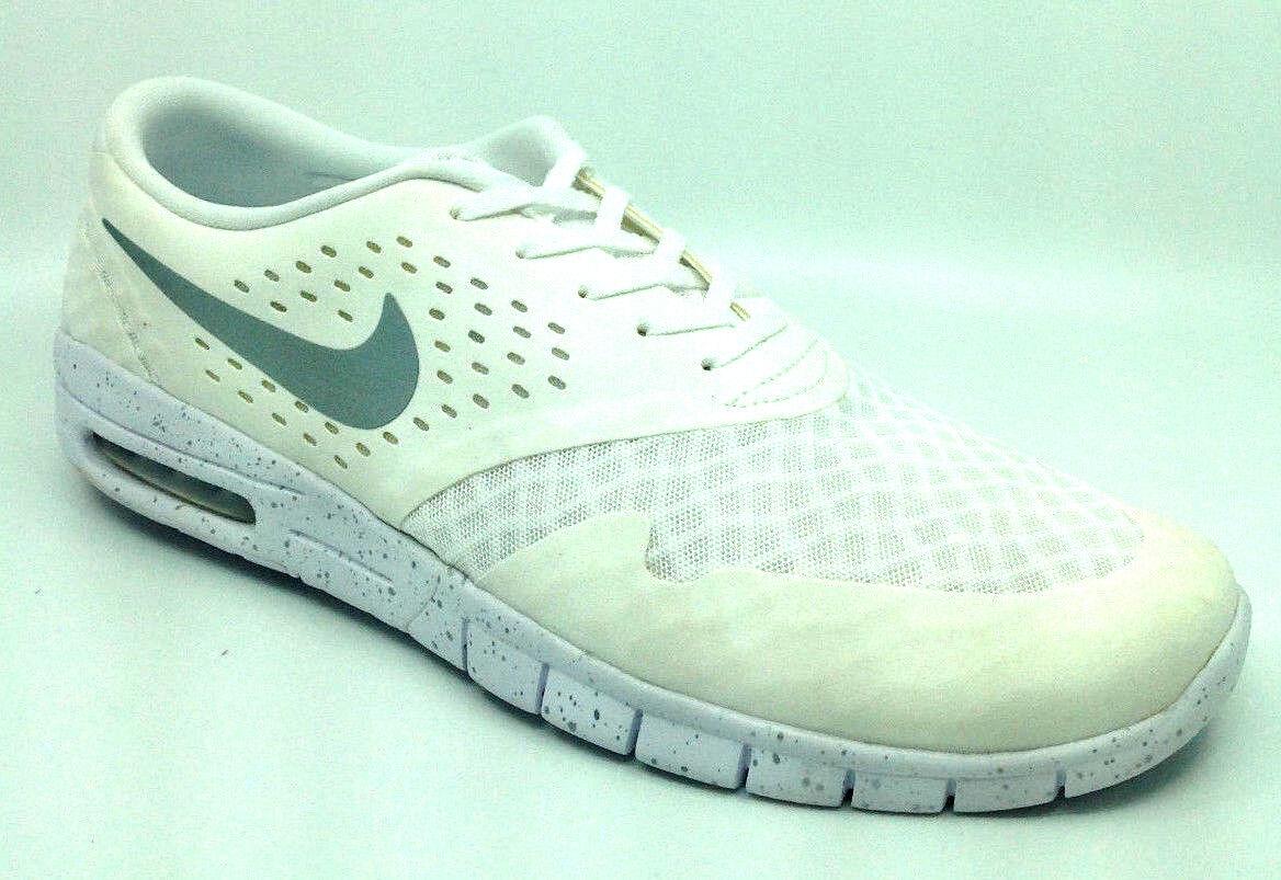Nike Eric Silver-Black Koston 2 Max Mens White/Metallic Silver-Black Eric 631047-100 Size 14 7d8f08