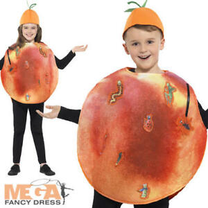 James and the Giant Peach Costume Kids Fancy Dress Roald Dahl Book Day Childs