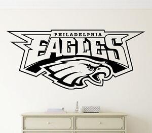 Image Is Loading Philadelphia Eagles Wall Decal Nfl Vinyl Sticker Football