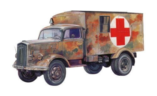 Italeri Sd.Kfz.305 Rettungswagen in 1:72 510007055 Italeri 7055   .