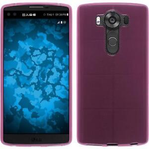 Custodia-LG-V10-trasparente-rosa-Cover-V10-in-silicone-Case