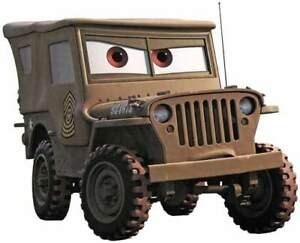 disney pixar cars sarge wwii willys jeep gpw mb wc cckw