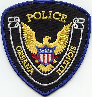 PAXTON ILLINOIS IL POLICE PATCH