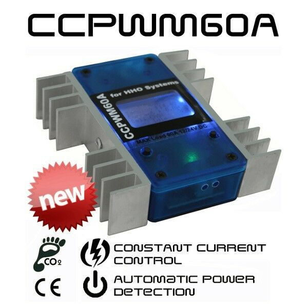 HHO Stromimpulsmodulator konstante Stromstärkesteuerung 12/24V CCPWM 60A
