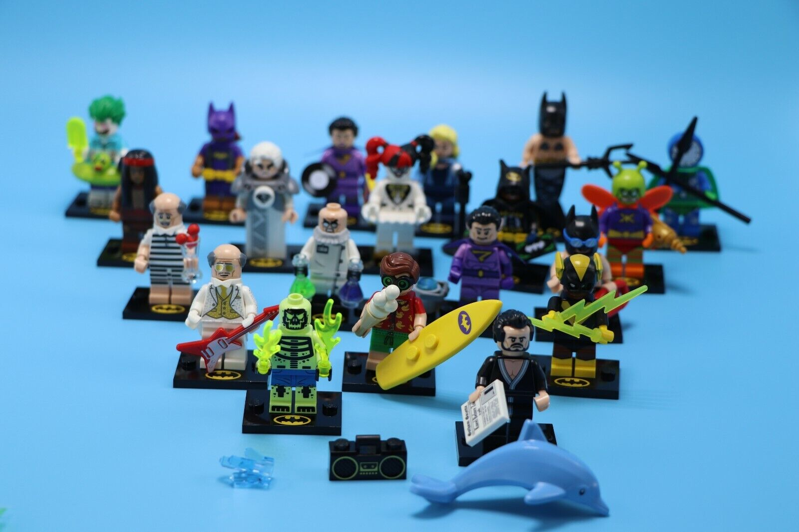 lego minifigures series 2 - HD 1600×1066