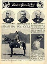 Prinzessin Victoria Luise als Regimentschef des 2.Leibhusaren-Rgmt.Danzig c.1911