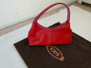 TOD-039-S-L8-04-Red-Shoulder-Leather-Bag-Made-in-Italy