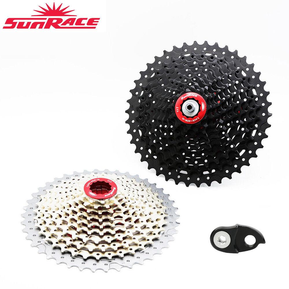 SunRace 10Speed 11-40 42 46 Mountain Fahrrad Cassette Narrow Wide CSMX3 Freewheel